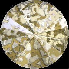Crystal Gold Patina F