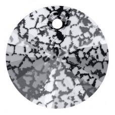 Crystal (001) Black Patina